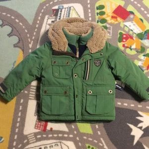 Boys heavy coat